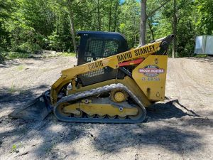 Land Clearing on Beaver Island